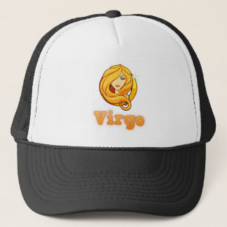 Virgo illustration trucker hat
