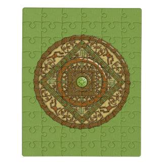 Virgo Mandala Acrylic Puzzle