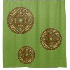 Virgo Mandala Shower Curtain