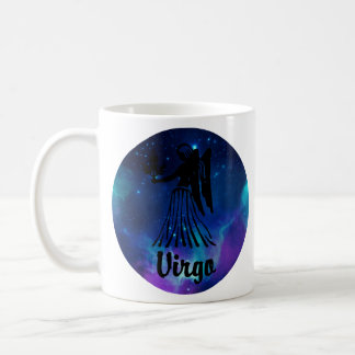 Virgo On Space Background Coffee Mug