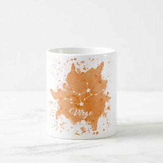 Virgo Orange Mug