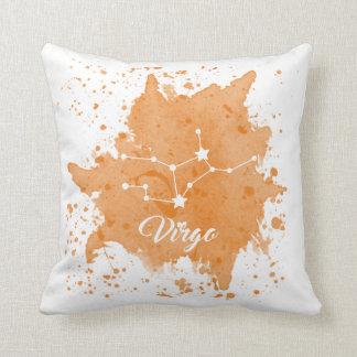 Virgo Orange Pillow