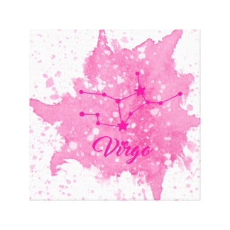 Virgo Pink Wall Art