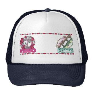 Virgo Pisces friendship design by Valxart Trucker Hat