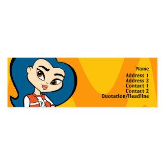 Virgo Profile Card Mini Business Card