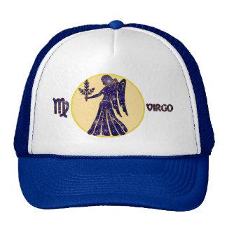 Virgo Sapphire Designer Modern Trucker Hat