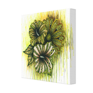Virgo Symbol Canvas Print