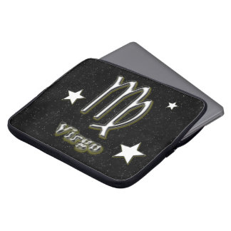 Virgo symbol laptop sleeve