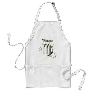 Virgo symbol standard apron