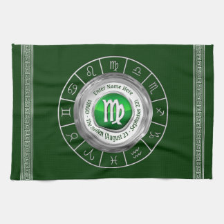 Virgo - The Maiden Astrological Sign Kitchen Towel