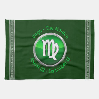 Virgo - The Maiden Zodiac Sign Kitchen Towel
