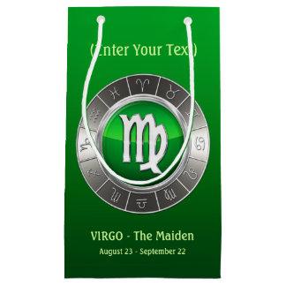 Virgo - The Maiden's Horoscope Symbol Small Gift Bag