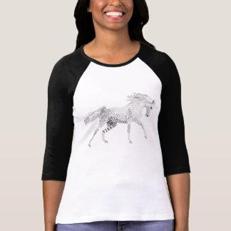 Virgo the Unicorn Womens 3/4 T-shirt
