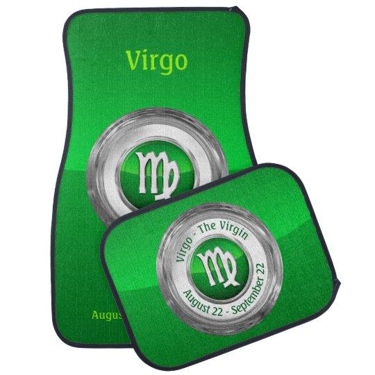 Virgo - The Virgin's Zodiac Symbol Auto Mat