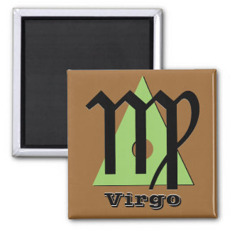 Virgo - Three Elements of Earth Magnet