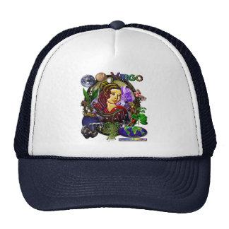 Virgo Zodiac Art Trucker Hat