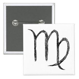 Virgo Zodiac Astrological Sign Pin