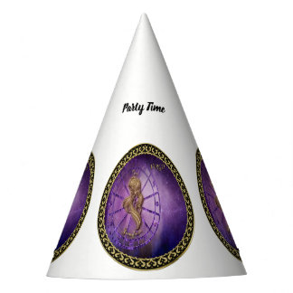virgo Zodiac Astrology design Horoscope Party Hat