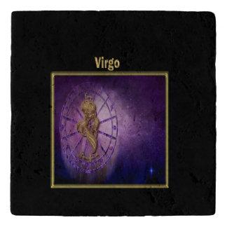 virgo Zodiac Astrology design Horoscope Trivet