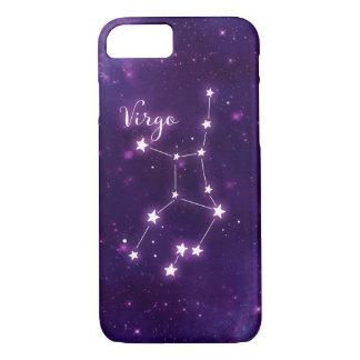Virgo Zodiac Constellation Phone Case