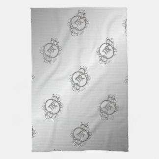 Virgo Zodiac Design Towel