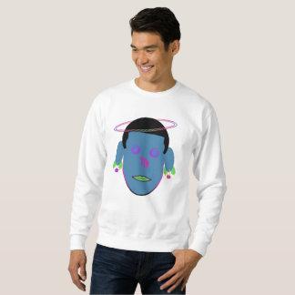 VIRGO Zodiac Galactic Dream Sweatshirt BLUE HEAD