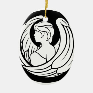 Virgo Zodiac Horoscope Sign Ceramic Ornament