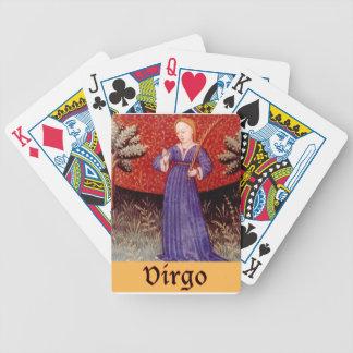 Virgo Zodiac Playing Cards