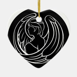 Virgo Zodiac Sign Ceramic Ornament