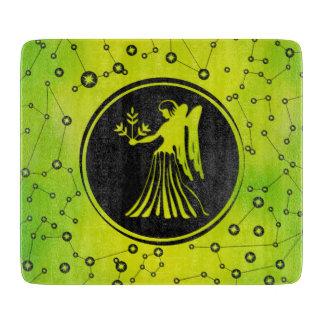 Virgo Zodiac Sign Earth element Cutting Board