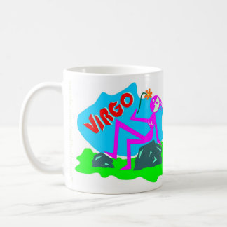 Virgo Zodiac Sign Mug