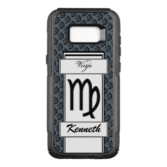 Virgo Zodiac Symbol Standard by Kenneth Yoncich OtterBox Commuter Samsung Galaxy S8+ Case