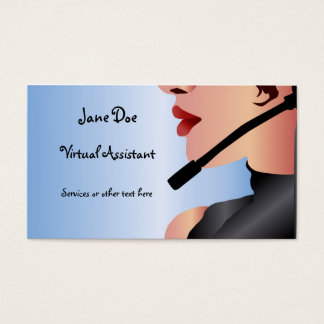 Virtual Assistance Business Card