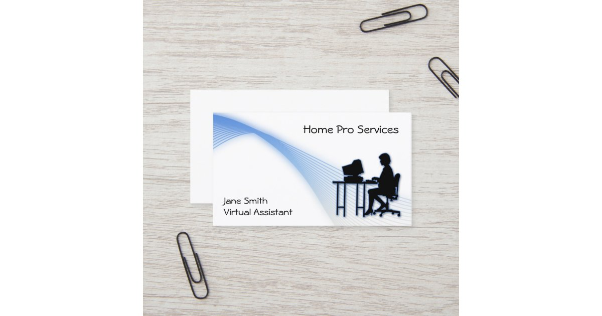 Virtual Assistant Business Card | Zazzle.ca