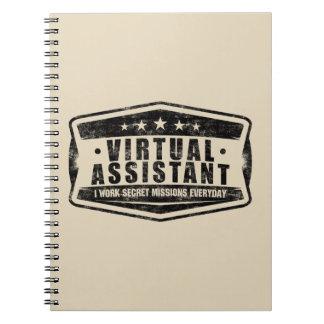 Virtual Assistant Secret Missions Notebook