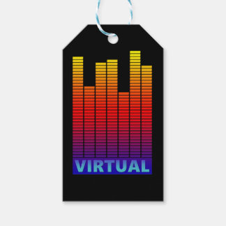 Virtual levels. gift tags