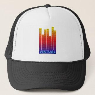 Virtual levels. trucker hat