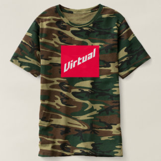 Virtual | Logo Camo T-shirt