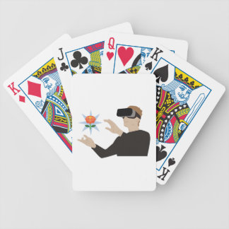 Virtual Reality Bicycle Playing Cards
