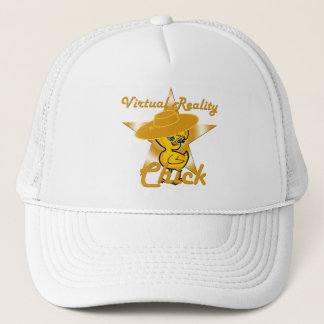Virtual Reality Chick #10 Trucker Hat