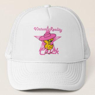 Virtual Reality Chick #8 Trucker Hat