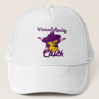 Virtual Reality Chick #9 Trucker Hat