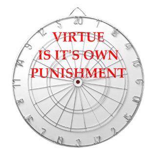 virtue dartboard with darts