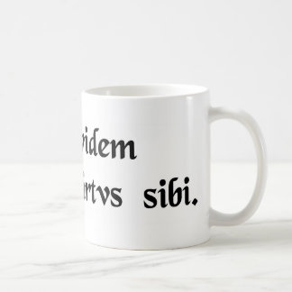 Virtue is its own reward. mug