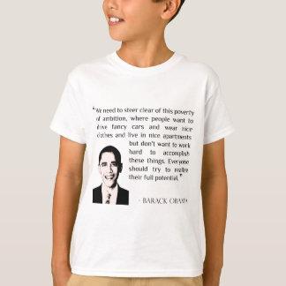 Virtue of hard work, inspirational Barack Obama Shirt