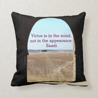 Virtue Throw Pillows