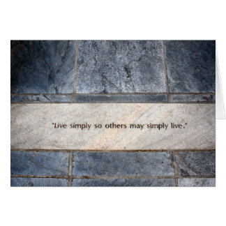 Virtues Card