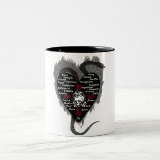 virtues coffee mugs