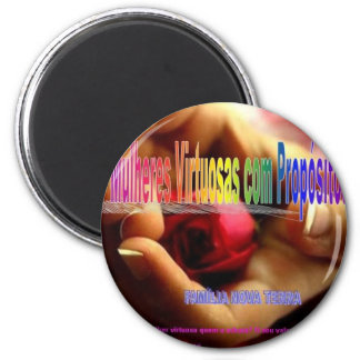 Virtuous women SUBJECT 2 Inch Round Magnet