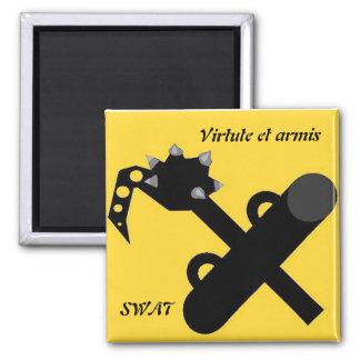 Virtute et armis SWAT Magnet
